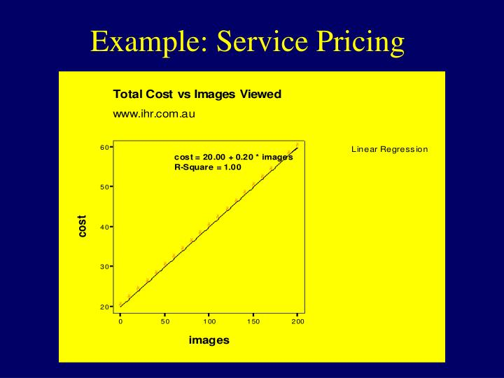 Example: Service Pricing