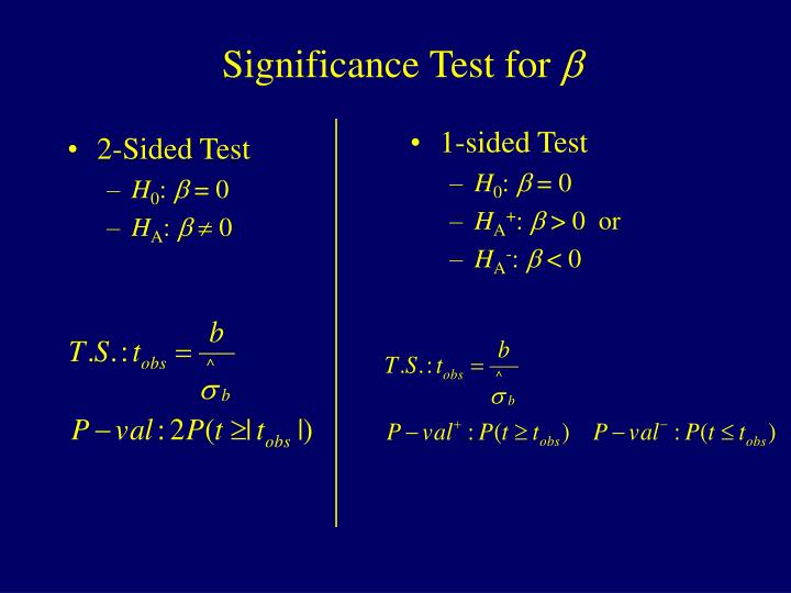 2-Sided Test