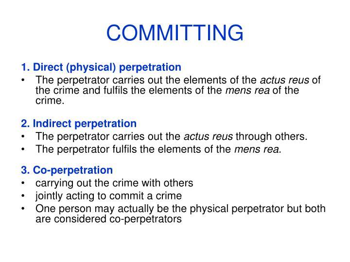 COMMITTING