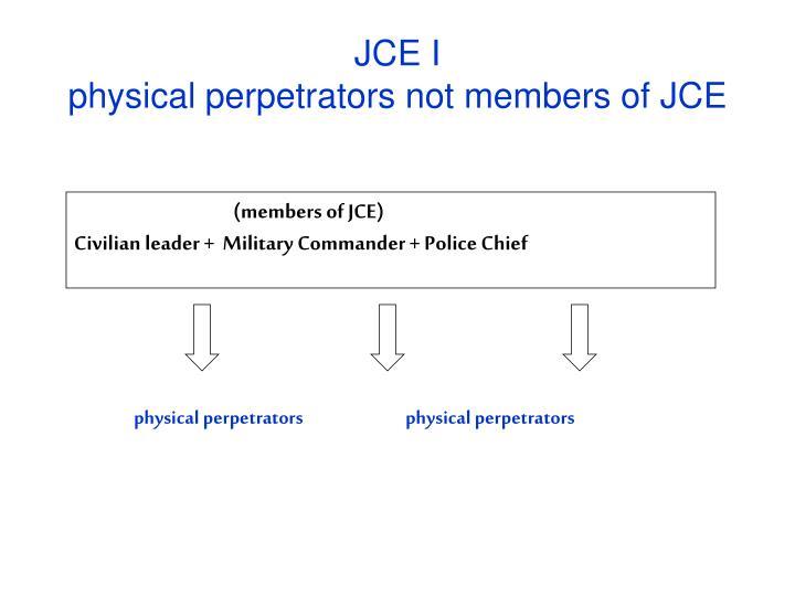 JCE I
