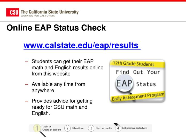 Online EAP Status Check