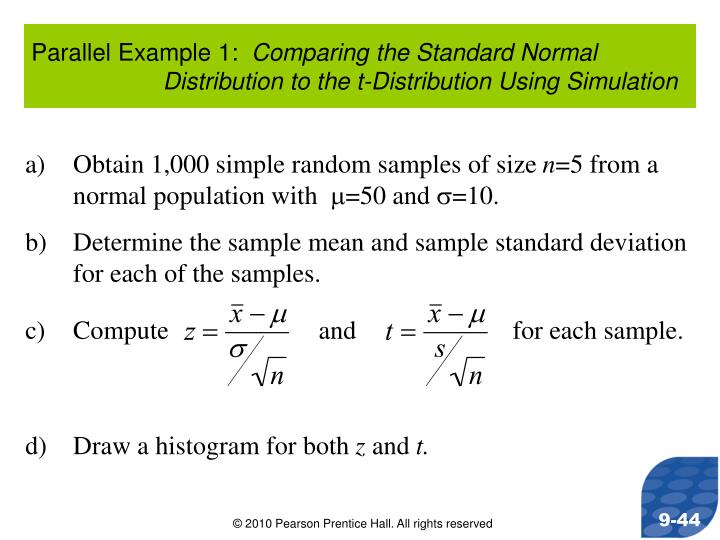 Parallel Example 1: