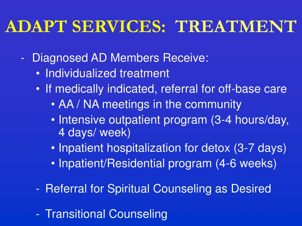 ADAPT SERVICES: