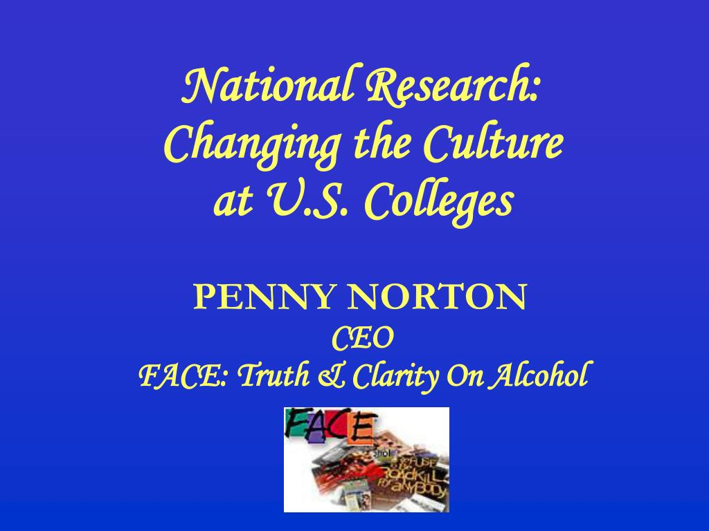 National Research:
