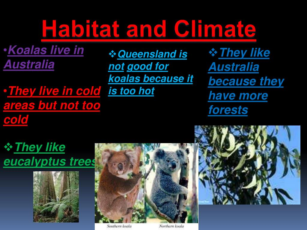 Habitat and Climate