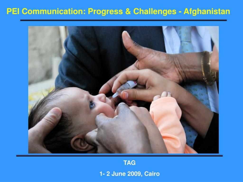 PEI Communication: Progress & Challenges - Afghanistan