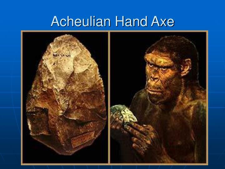 Acheulian Hand Axe