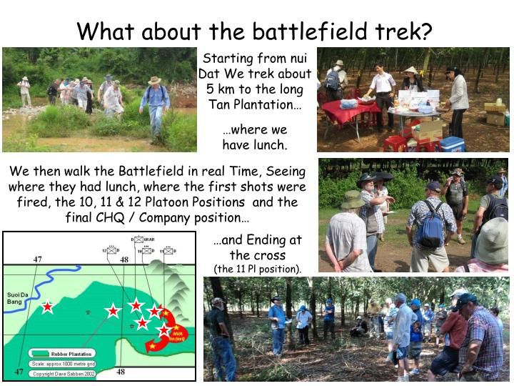 What about the battlefield trek?