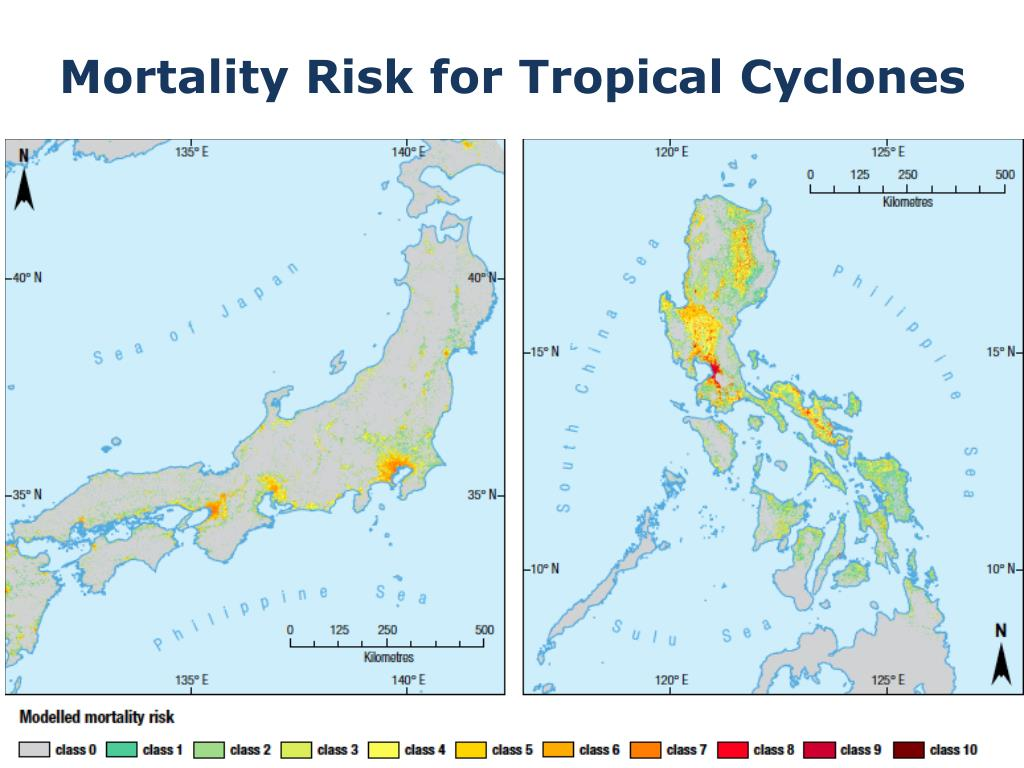 Mortality Risk for Tropical Cyclones