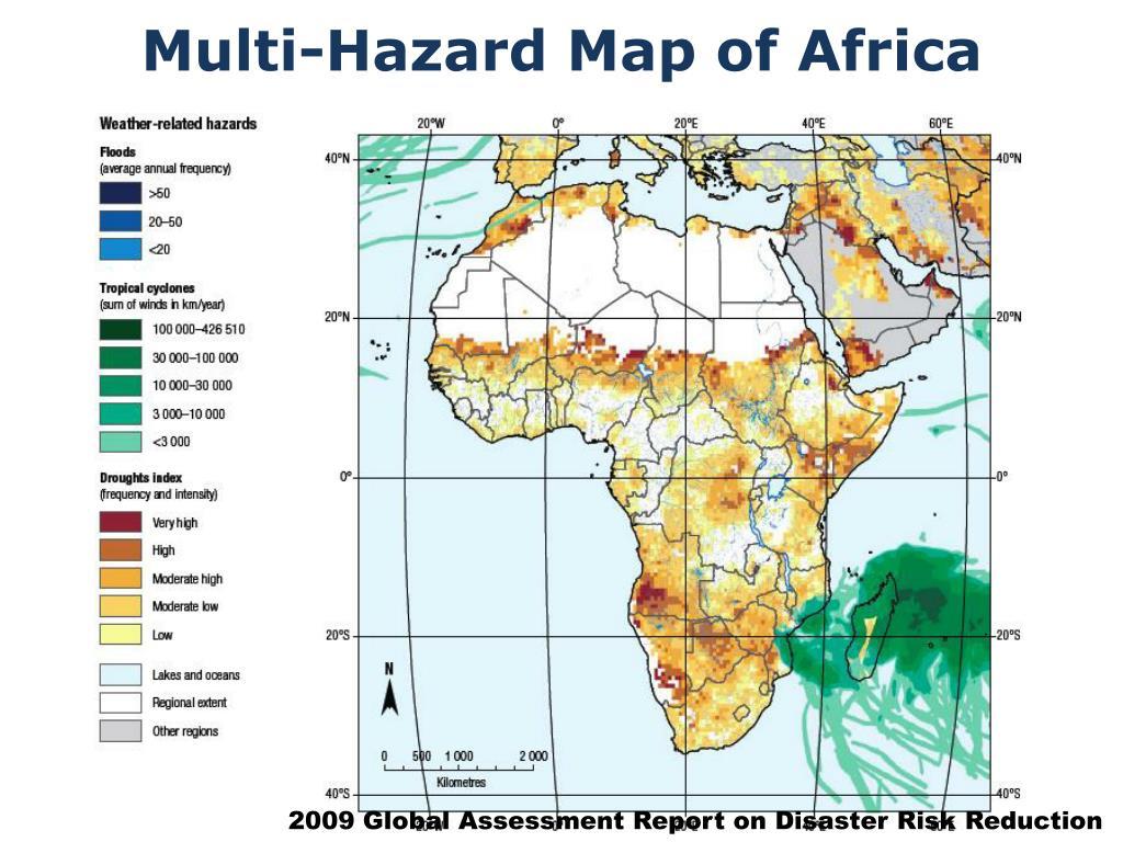 Multi-Hazard Map of Africa