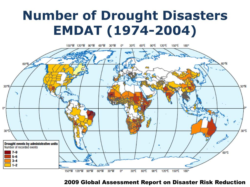 Number of Drought Disasters