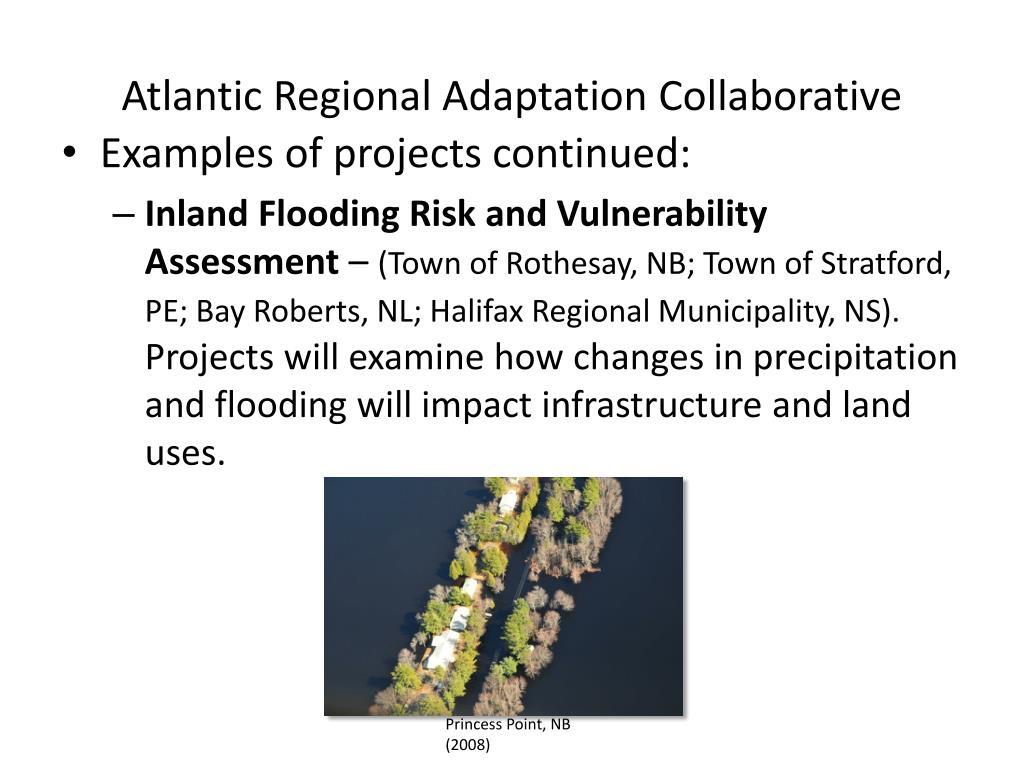 Atlantic Regional Adaptation Collaborative