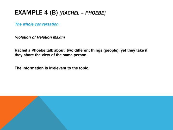 Example 4 (b)