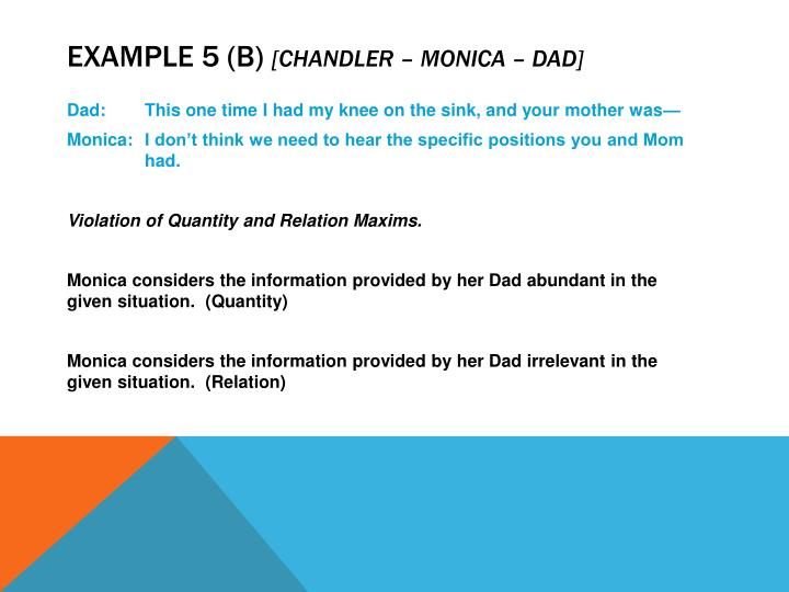 Example 5 (b)