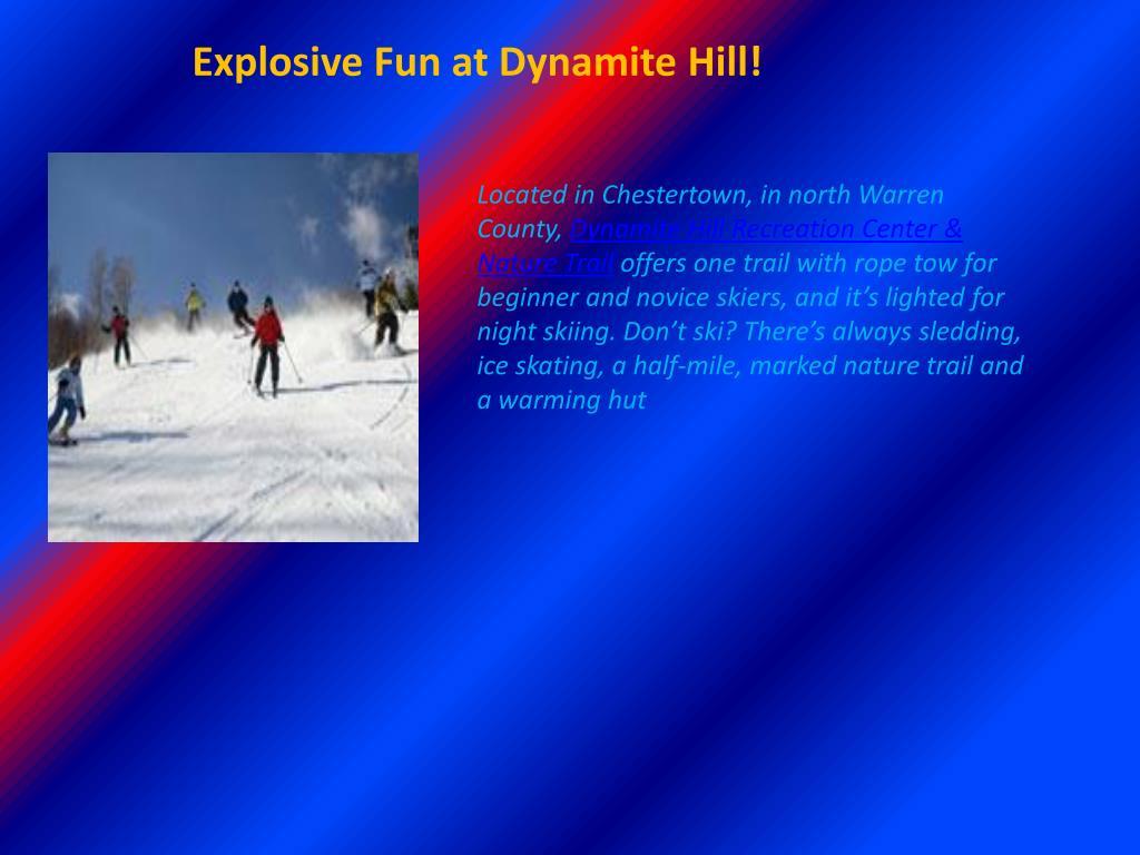 Explosive Fun at Dynamite Hill!