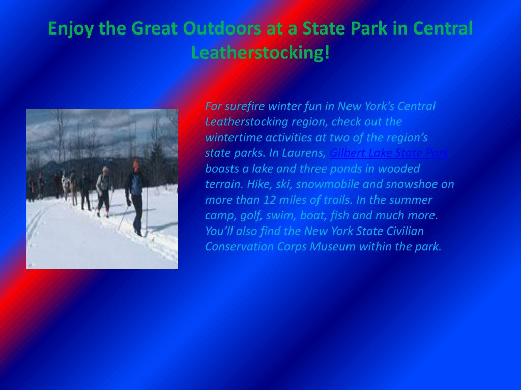 Enjoy the Great Outdoors at a State Park in Central