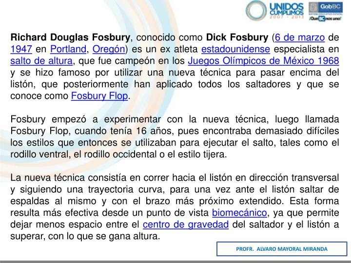 Richard Douglas Fosbury