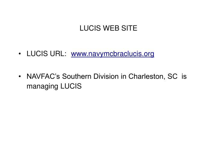 LUCIS WEB SITE
