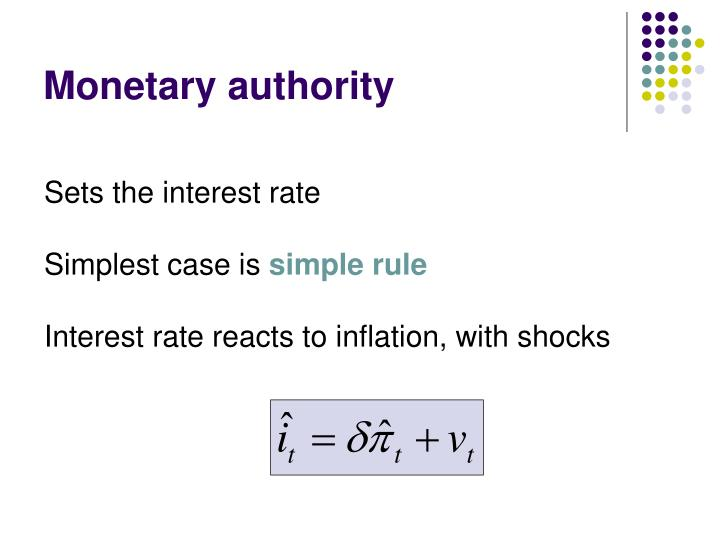 Monetary authority