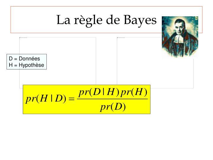 La règle de Bayes