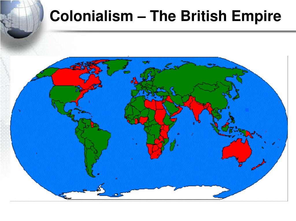 Colonialism – The British Empire