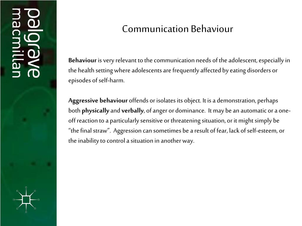 Communication Behaviour