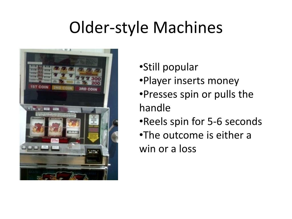 Older-style Machines