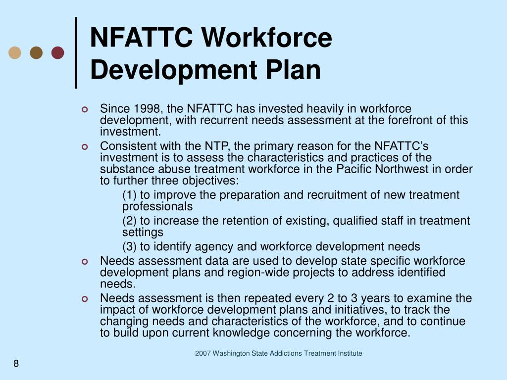NFATTC Workforce Development Plan
