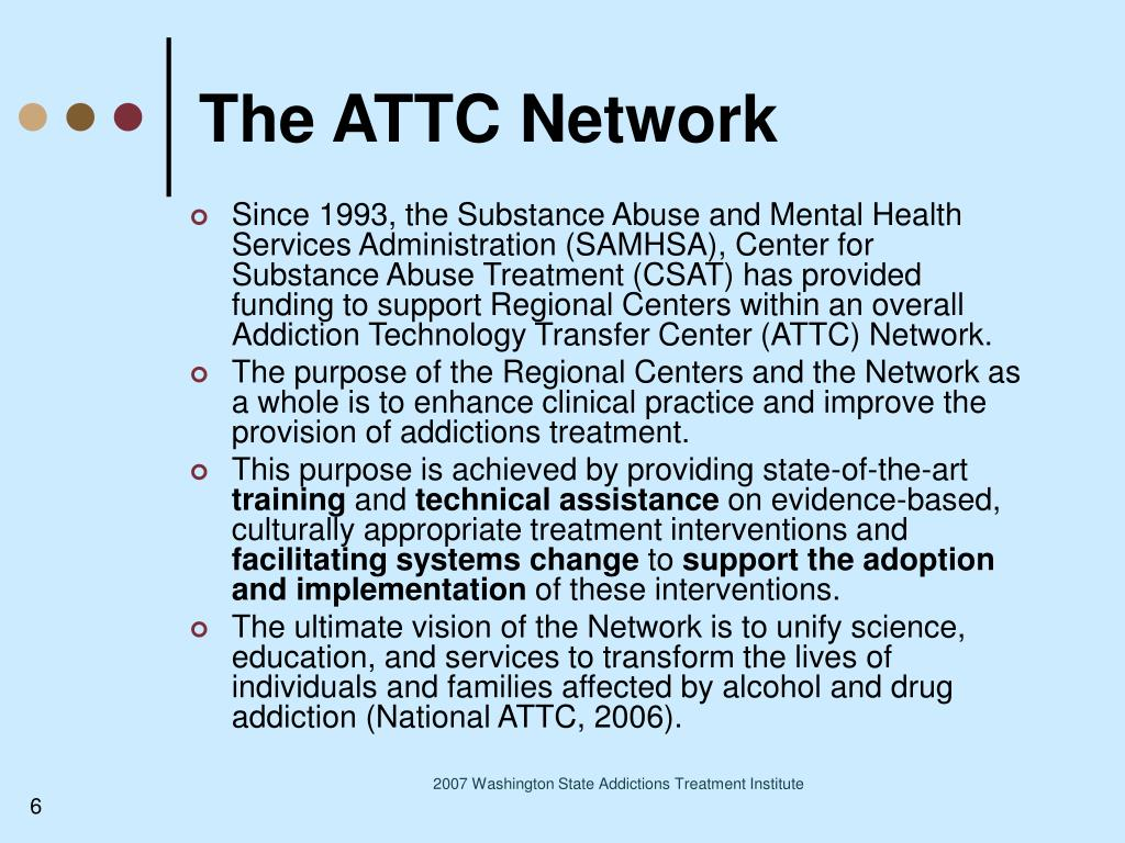 The ATTC Network