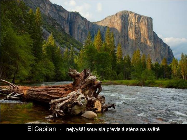 El Capitan  -