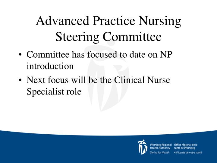 Advanced Practice Nursing Steering Committee