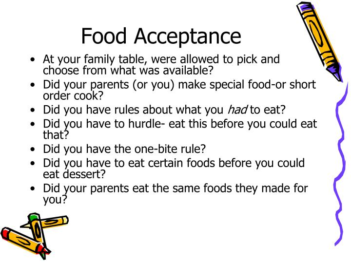 Food Acceptance