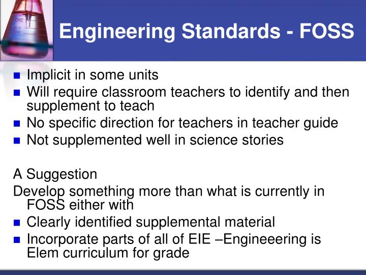 Engineering Standards - FOSS