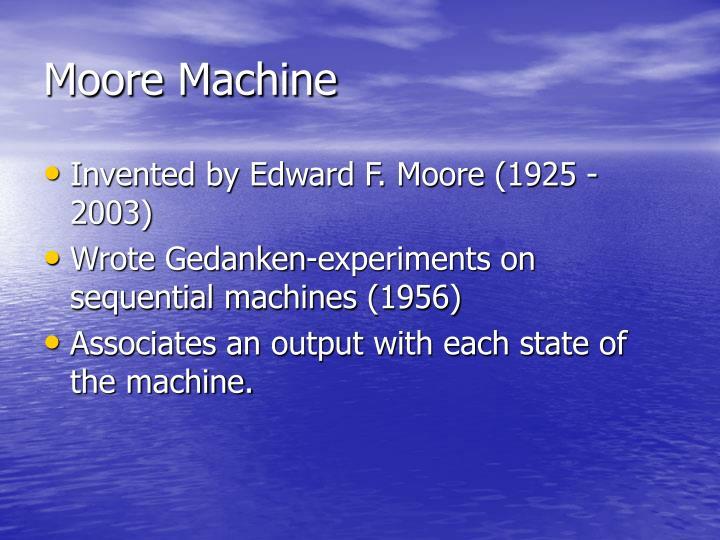 Moore Machine