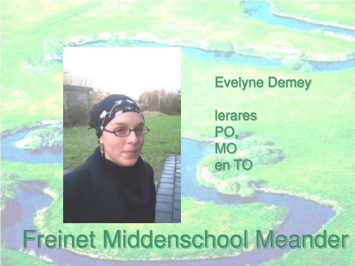Evelyne Demey