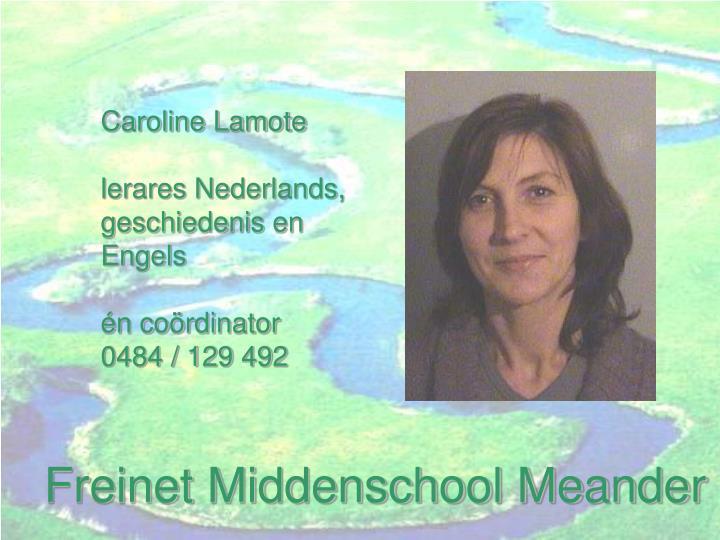 Caroline Lamote
