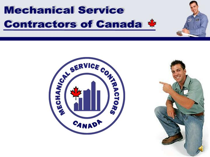 Mechanical service contractors of canada