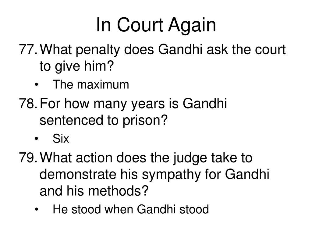 In Court Again