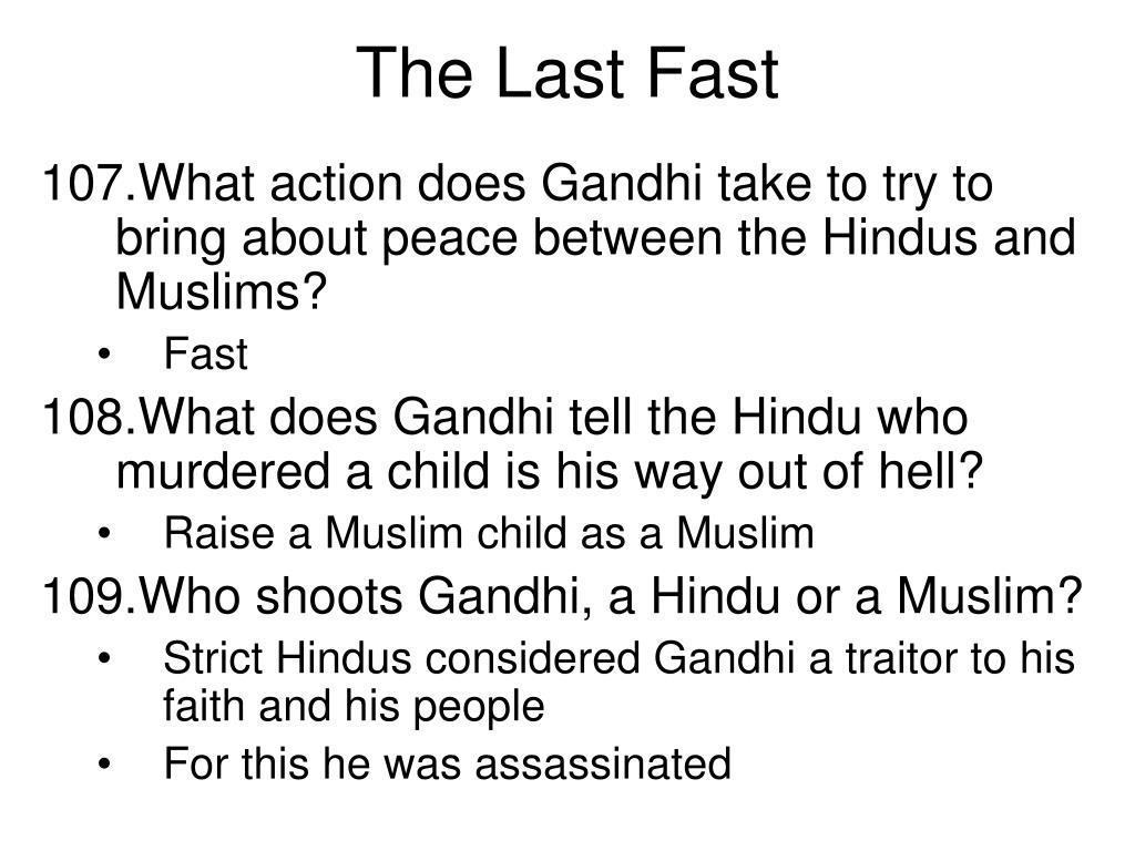 The Last Fast