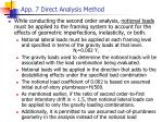 app 7 direct analysis method1