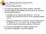c1 stability design requirements1