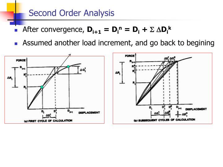 Second Order Analysis