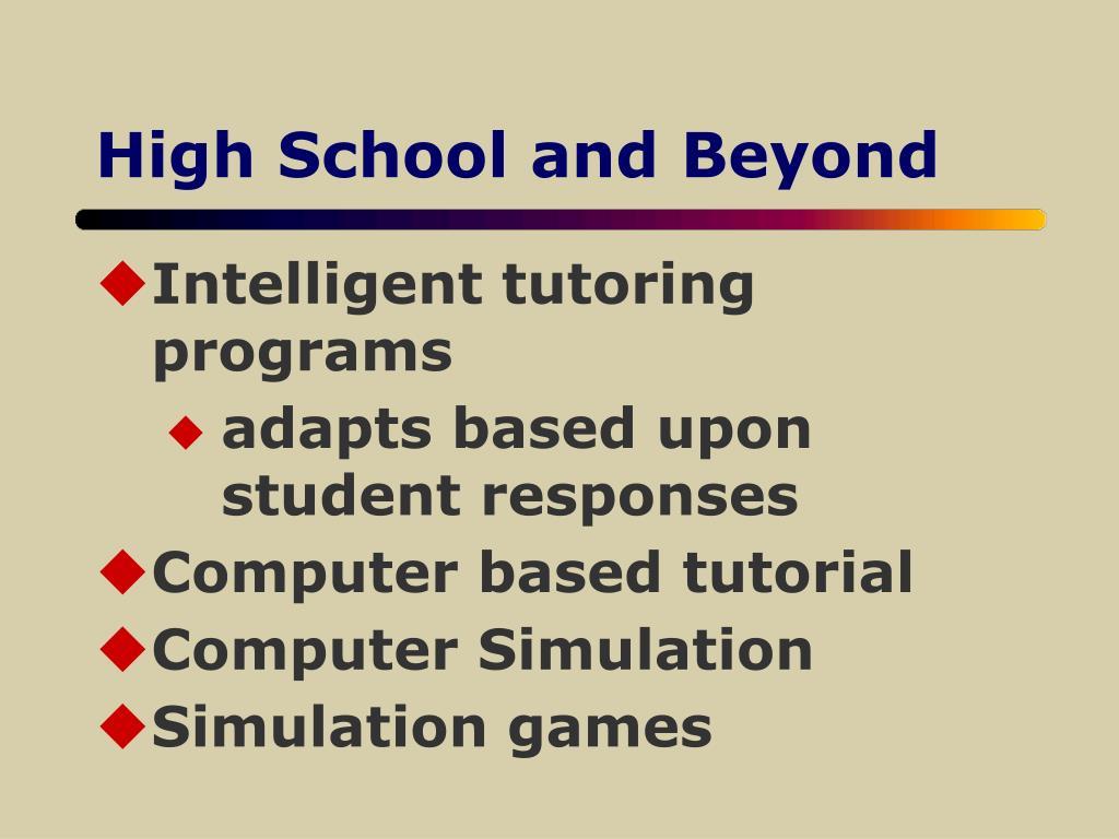 High School and Beyond