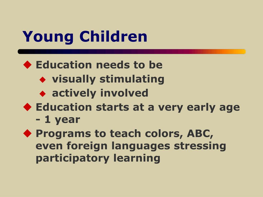 Young Children