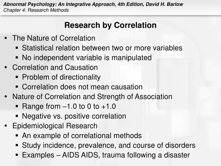 Research by Correlation
