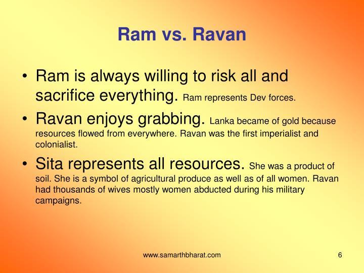Ram vs. Ravan
