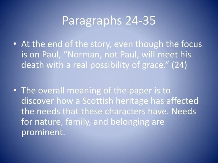 Paragraphs 24-35
