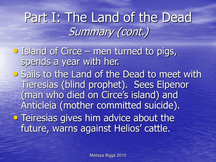 Part I: The Land of the Dead