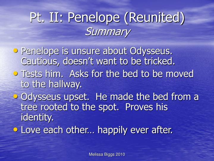 Pt. II: Penelope (Reunited)