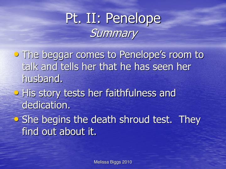 Pt. II: Penelope